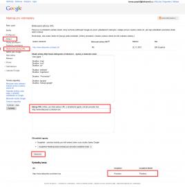 Pro konkrétní URL můžeme provést test, zda má Googlebot na tuto URL přístup.