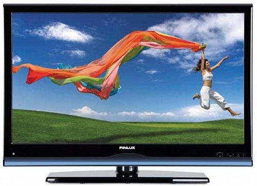 Široký spodní rámeček připoutává televizor směrem k jednoduchému plastovému stojanu, který se k panelu pouze přicvakne. Úzké postranní rámečky ho pak zeštíhlují.