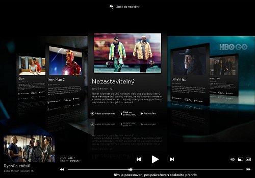 Videotéka HBO GO nabízí divákům také relevantní obsah, který by se jim mohl líbit.
