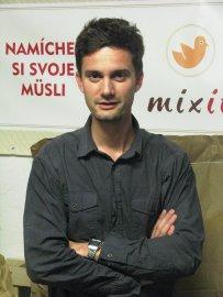 Martin Wallner má zatím ve firmě Mixit.cz 95 procent, časem chce ale namíchat poměr svého a Tomášova podílu na 60:40.