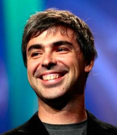Larry Page, nový CEO a spoluzakladatel Google