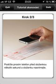 """S mobilem můžete snadno zaplatit i poštovní poukázky typu """"A"""". Aplikace Mobilní banka 2 od Komerční banky."""
