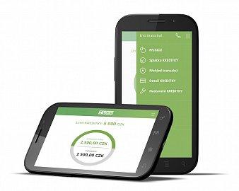 Aplikace ZUNO BANK pro správu kreditní karty.