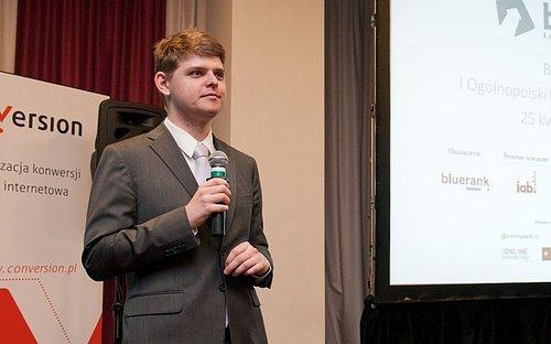 """Pavel Jašek přednáší na polské konferenci """"Blueffect - Efectiveness Congress"""""""