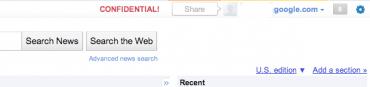 Google+1 v podobě sdílecího toolbaru. Skutečné, něco naprosto jiného nebo podvrh?