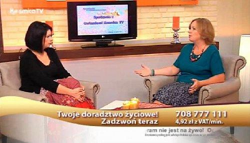 Polská televize Kosmica už vysílá delší dobu pouze ze záznamu, na což upozorňuje i informační lišta