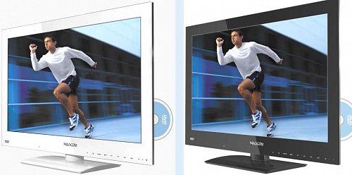 Televizory, ať už ve variantě s DVD či nikoli, můžete mít v bílé i černé barvě a úhlopříčce 56 a 61 cm. Chystá se i jeden model červený.