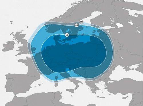 Pokrytí Evropy signálem novým satelitem Astra 3B, který převzal po Astře 3A programy České televize, Prima family, TV Noe a některých rozhlasových stanic.
