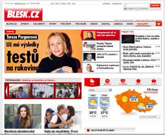 Nový Blesk.cz late 2011
