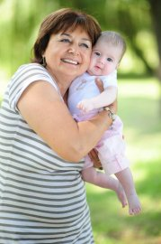 Mateřská, rodiče, dítě, babička, au-pair, hlídání