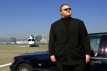 Kim Dotcom na archivním snímku z roku 1999