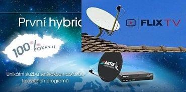 AntikSat a Flix.TV jsou dva poskytovatelé satelitního televizního signálu, které v nejbližší době uvidíme i u nás. Jako první by měl přijít maďarský Flix.TV.