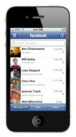 Facebook Messages na mobilu