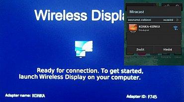 Wi-Fi Miracast na televizoru za necelých šest tisíc? je to opravdu skutečnost. A funkční!