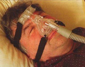 apnoe ve spánku, chrápání, dýchací maska