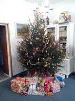 Vánoční stromek ve Sberbank
