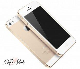 Takto si iPhone 5S vbarvě šampaňského představuje Shop Le Monde