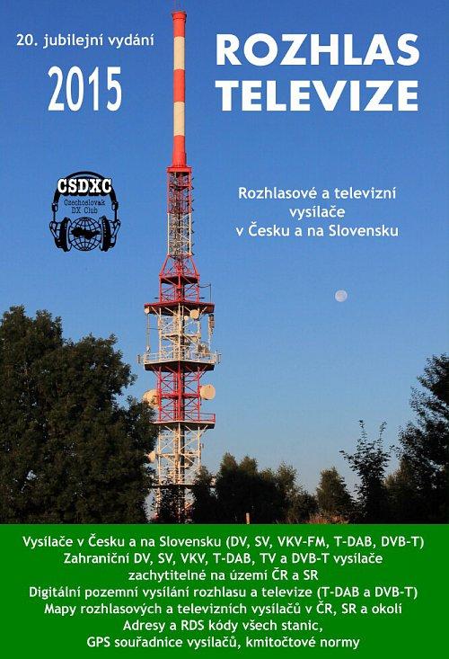 Obálka publikace Rozhlas televize, která se dočkala v roce 2015 svého 20. vydaní