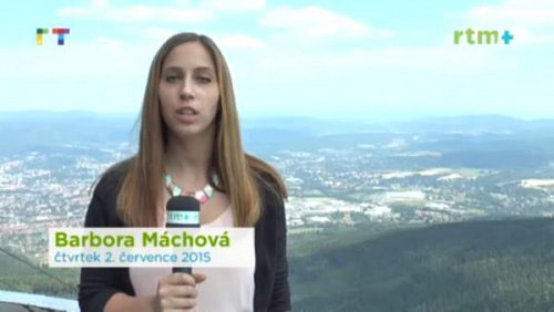 Ukázka z vysílání nové regionální televize RTM+
