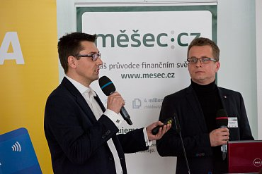 Luděk Slouka a Richard Walitza, MasterCard Europe