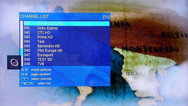 Seznam kanálů