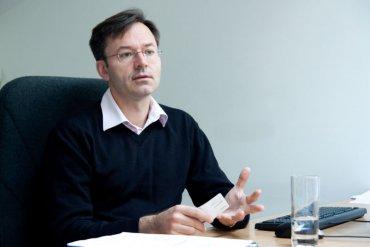 """""""Jsme bezkonkurenčně největší,"""" říká Jan Štíhel o sobotním farmářském trhu."""