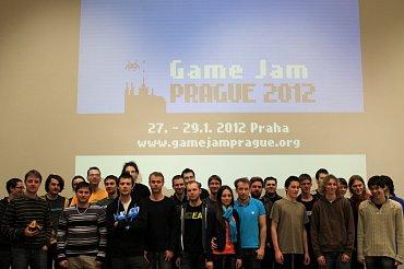 Fotografie z druhého ročníku Game Jame Prague 2012