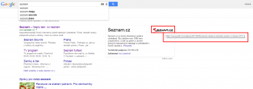 Google si bere loga firem z hodně nesmyslných zdrojů. A navíc přes to vede proklik.