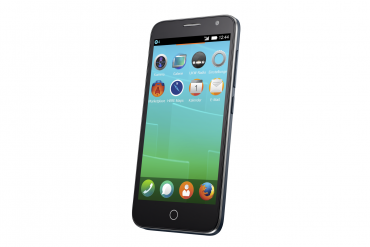 Alcatel One Touch Fire E (Slide) s Firefox OS.