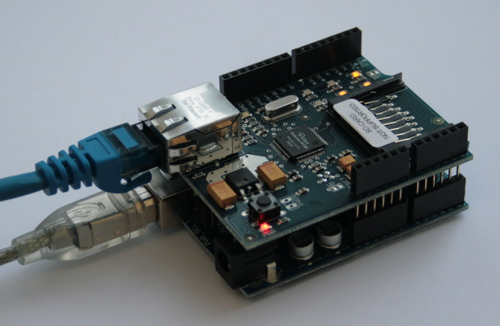 Arduino with Shield