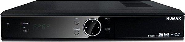 Přední panel přijímače Humax HD-FOX T2