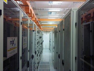 Datové centrum T-Mobilu na Vyšehradě v Praze.