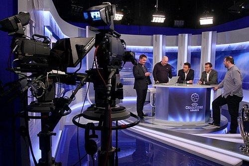 Pro vysílání v HD rozlišení bude vybaveno i fotbalové studio Ligy mistrů