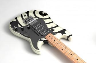 Kytara z webu 4dgraph.com