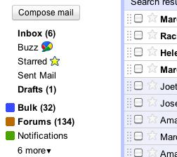 Nová funkce GMail