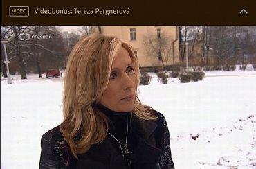 Na webu pořadu najdete i spoustu videobonusů. Jako ten s Terezou Pergnerovou.