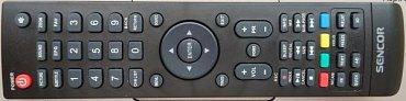 Dálkový ovladač nabízí povětšinou solidní rozložení a ani tlačítka nejsou tak malá, jak bývá v této třídě zvykem. (Fotografii z jiného úhlu pohledu najdete v galerii.)