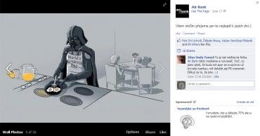 Typický Facebook, vem kde vem, hlavně když bude hodně palců