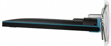Elegantní profil Loewe Connect 32 s rozumnou hloubkou LCD panelu.