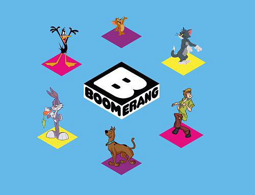 Nový vizuál dětské stanice Boomerang, který bude nasazen v průběhu roku 2015