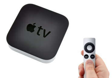 Set-top-box Apple TV.