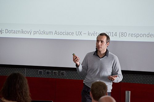 Luboš Plotěný, managing director of ExperienceU and head of Czech UX Association