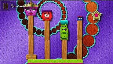 Obrázky ze hry Critter Cascade.