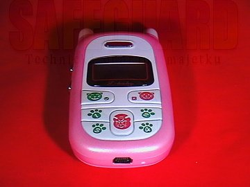 Dětský GSM telefon speciálně pro ochranu a dohled dětí