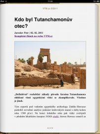 VTM ve verzi pro iPad