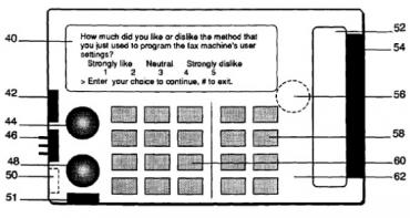Vyobrazení faxového přístroje z patentu drženého Lodsysem