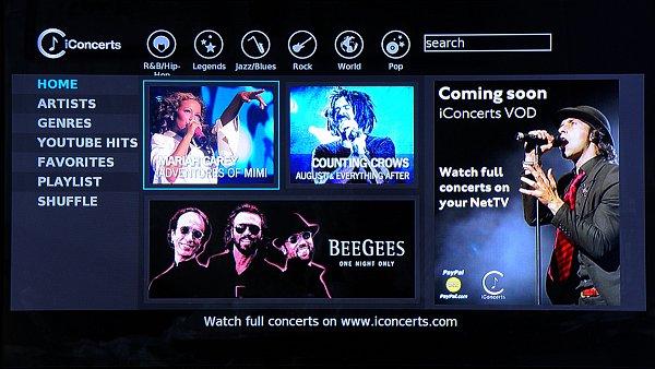 Můžete si pustit hudební ukázku z nabídky satelitního programu iConcerts, který má ve své nabídce i Skylink.