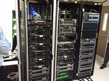 Dell Labs v Texasu. Testování odladěných strojů na chod in-memory platformy SAP HANA.