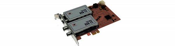 TBS6284 je quad TV tuner PCI-Express s rozhraním DVB-T2 / T TV.