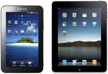 Samsung Galaxy Tab versus Ipad